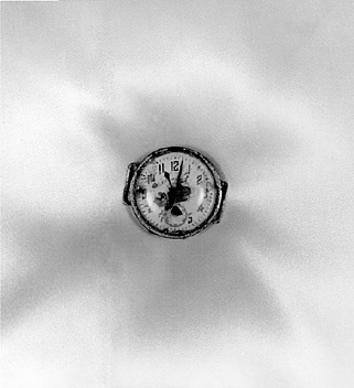 Shomei Tomatsu, A Wristwatch Dug up approximately 0.7 km from the Epicenter of the Explosion. Nagasaki, 1961